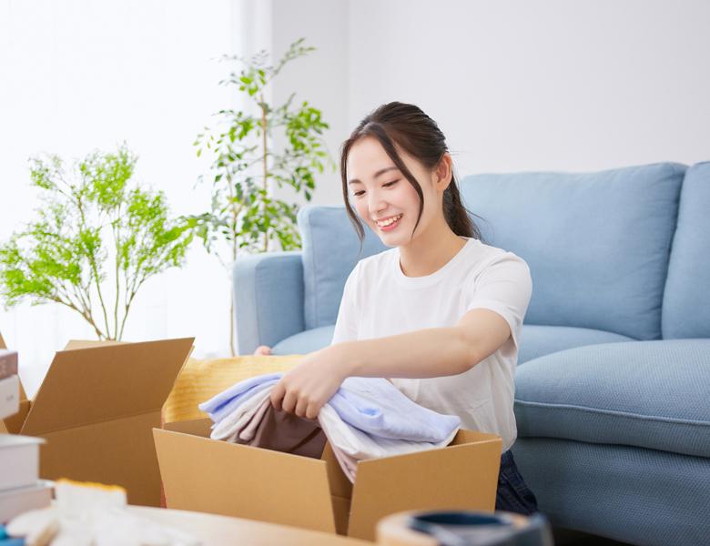 荷物の梱包の仕方