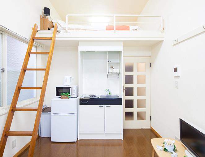 家具・家電付きで初期費用をカット